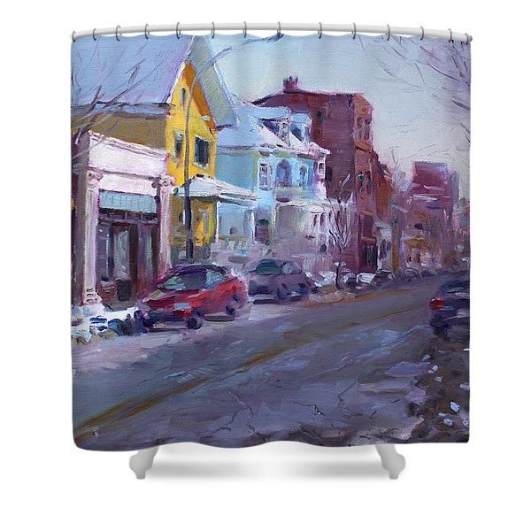 149 Elmwood Ave Savoy Shower Curtain