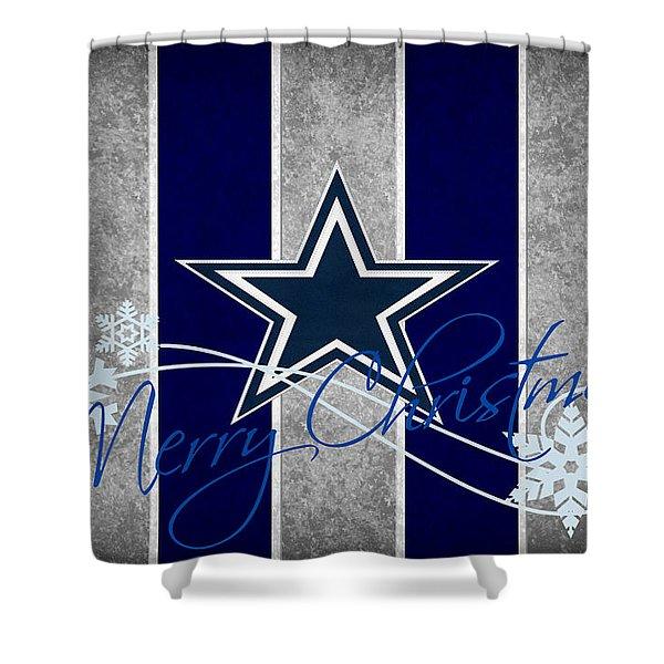 Dallas Cowboys Shower Curtain