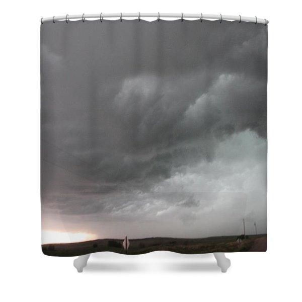 Nebraska Panhandle Supercells Shower Curtain