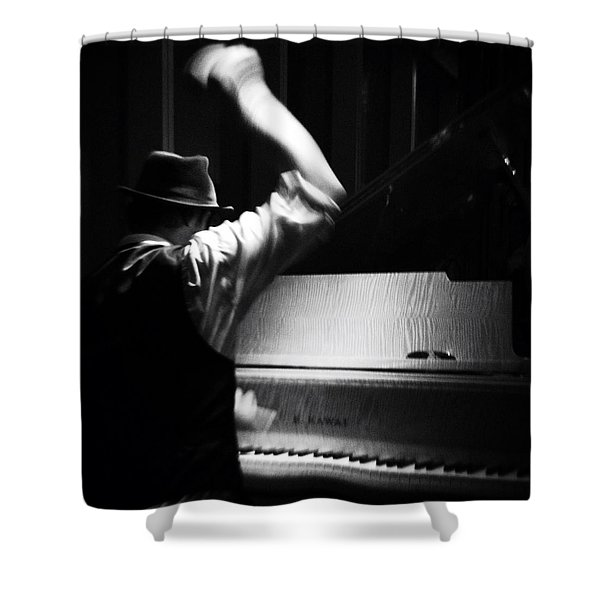 The Hot Sardines Shower Curtain