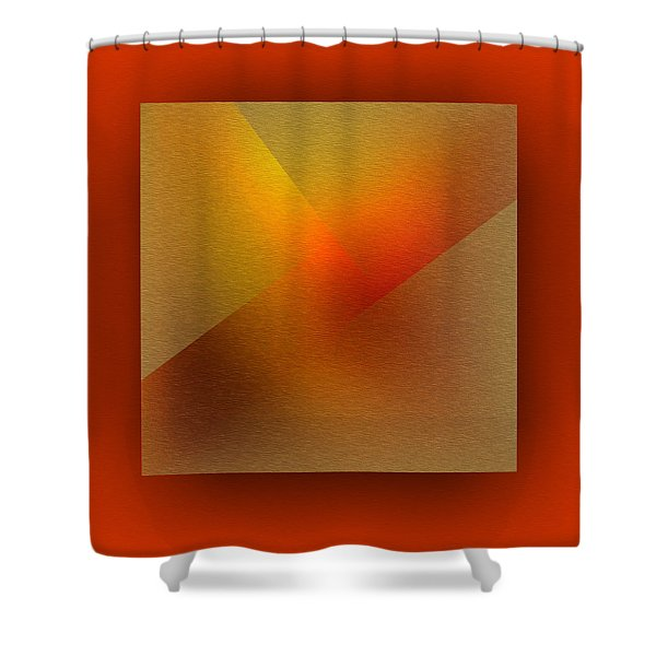 Shower Curtain featuring the digital art Color Recycling by Mihaela Stancu