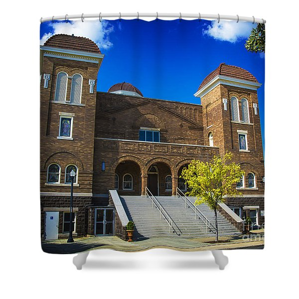 16th Street Baptist Church Shower Curtain