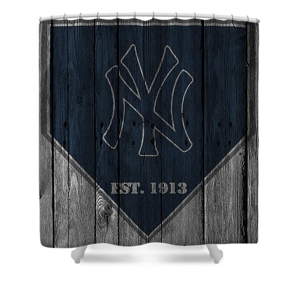 New York Yankees Shower Curtain
