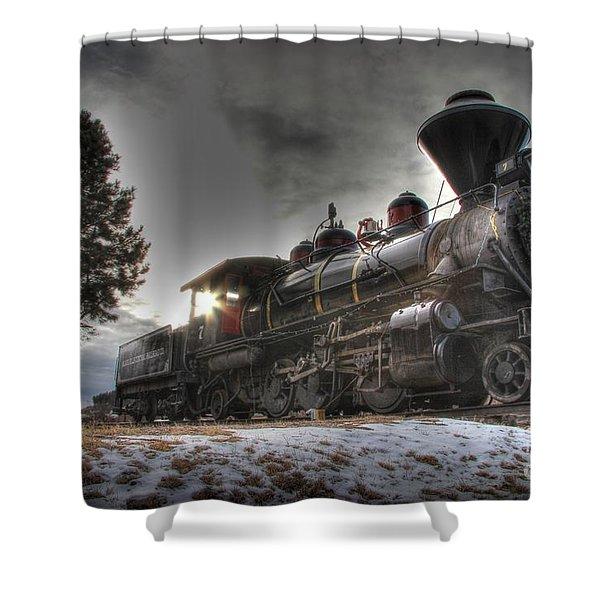 1880 Train Shower Curtain