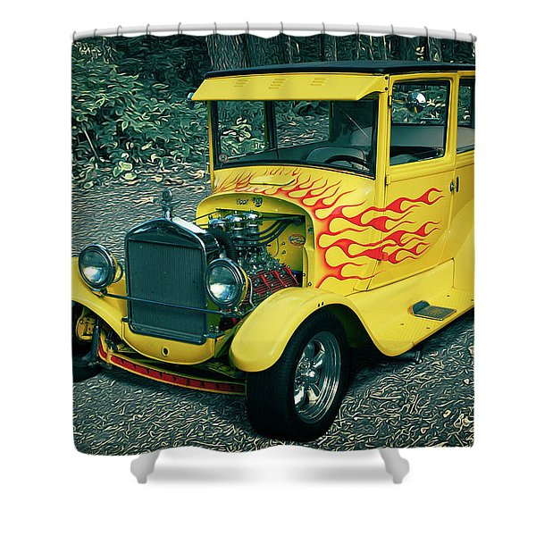 1927 Ford Model T Shower Curtain