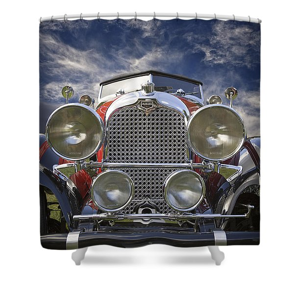 1928 Auburn Model 8-88 Speedster Shower Curtain