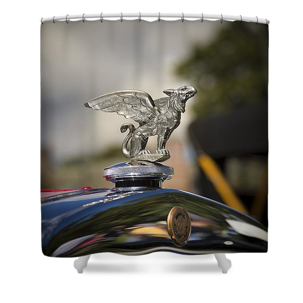 1928 Gardner Model 8-85 Sport Roadster Shower Curtain
