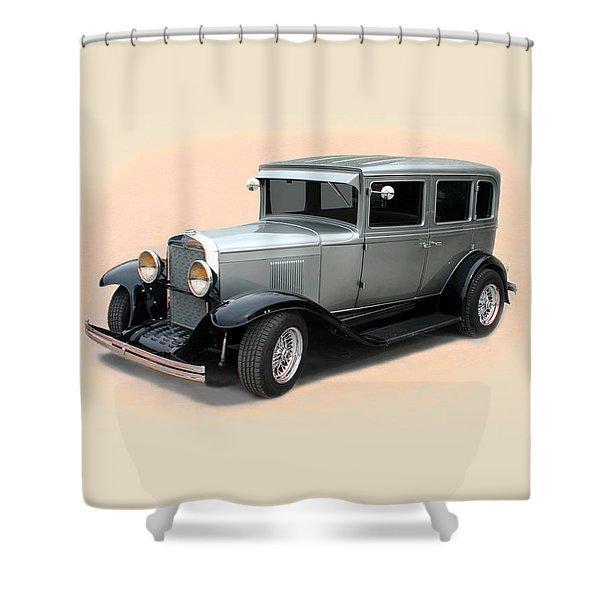 1929 Chevrolet Stovebolt Six Sedan Shower Curtain