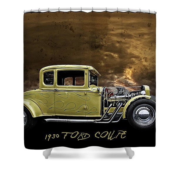 1930 Ford Coupe Shower Curtain