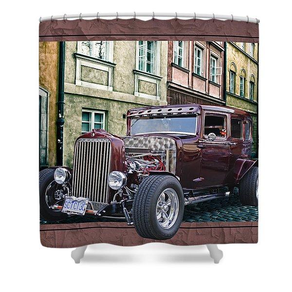 1931 Chev Shower Curtain