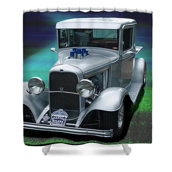 1932 Ford Pickup Shower Curtain