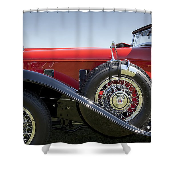 1932 Stutz Bearcat Dv32 Shower Curtain