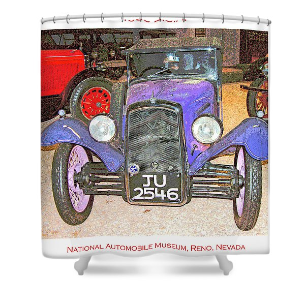 1933 B.s.a Automobile Shower Curtain
