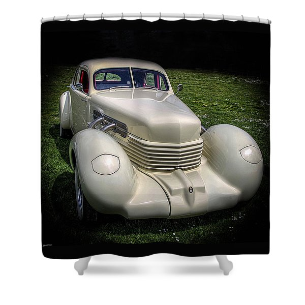 1936 Cord Automobile Shower Curtain