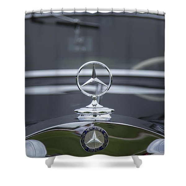 1937 Mercedes Benz Shower Curtain