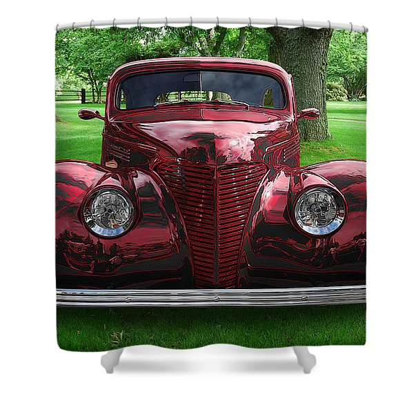 1938 Ford Coupe Shower Curtain