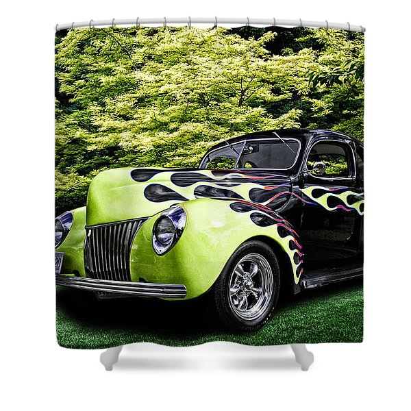 1939 Ford Coupe Shower Curtain