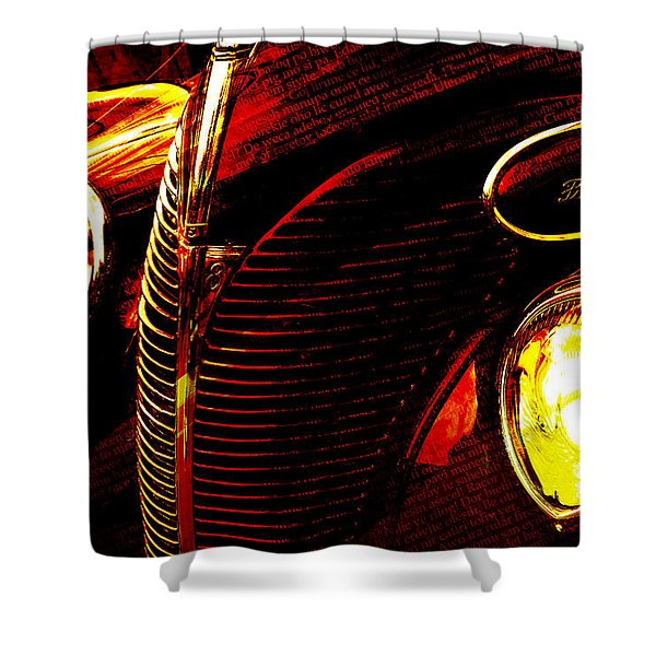 1939 Ford Shower Curtain