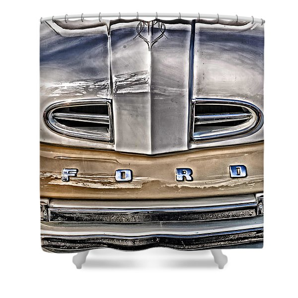 1948 Ford Pickup Shower Curtain