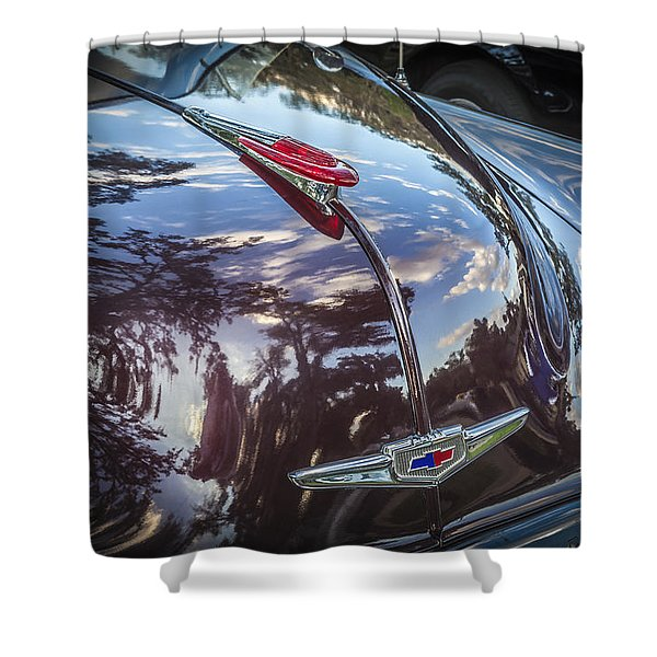 1949 Chevrolet Sedan Shower Curtain