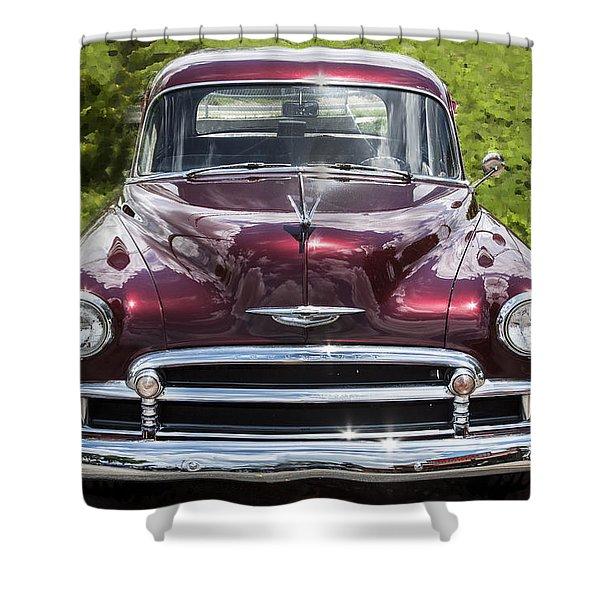 1950 Chevrolet Beauty Shower Curtain