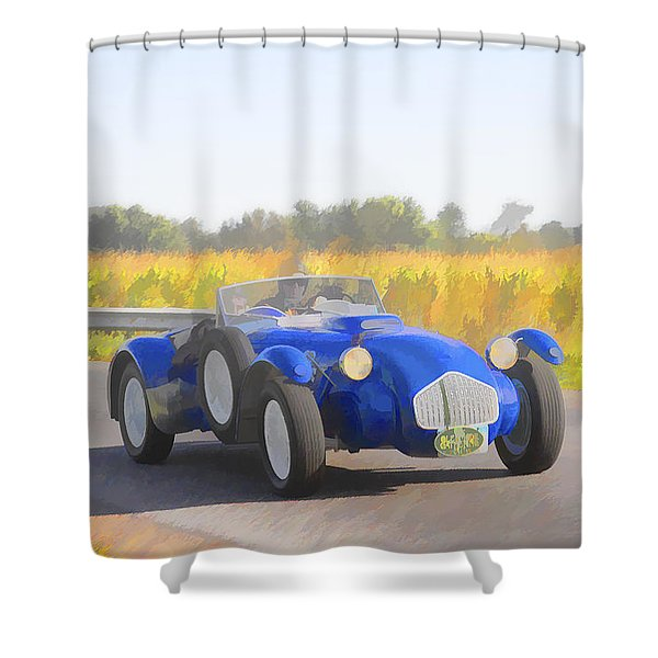 1953 Allard J2x Roadster Shower Curtain