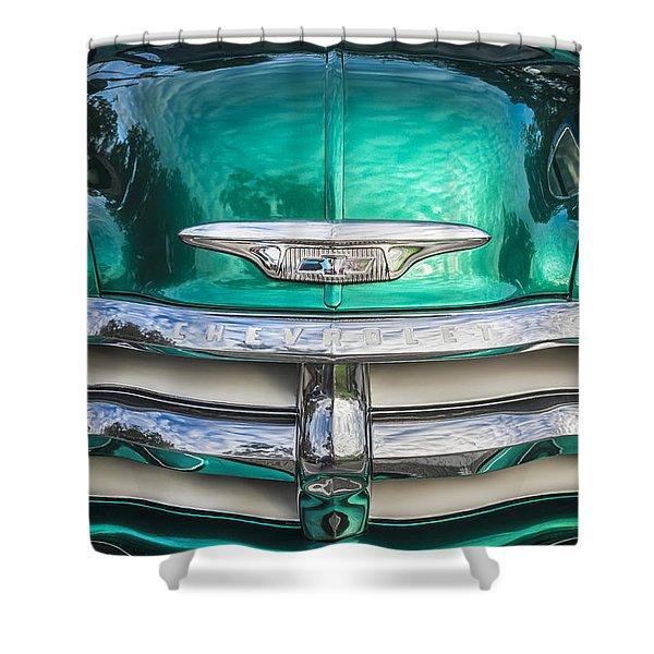 1955 Chevrolet First Series Shower Curtain