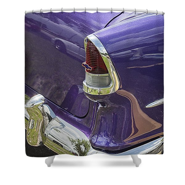 1955 Chevrolet Shower Curtain