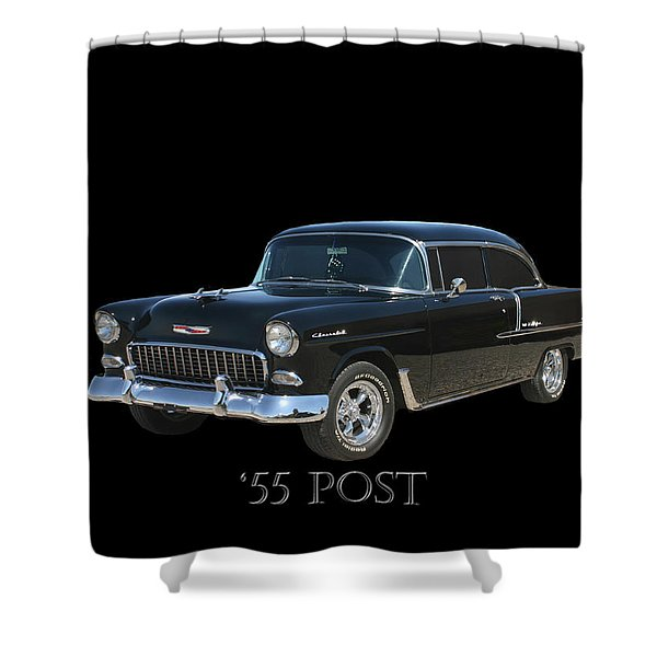 1955 Chevy Post Shower Curtain