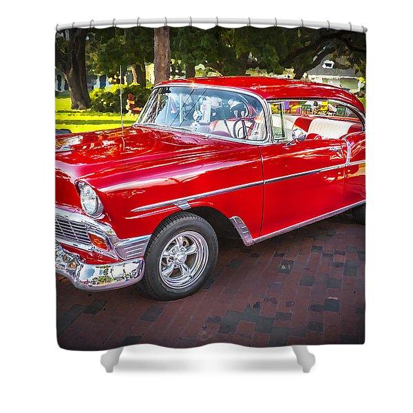 1956 Chevrolet 210 Bel Air Shower Curtain