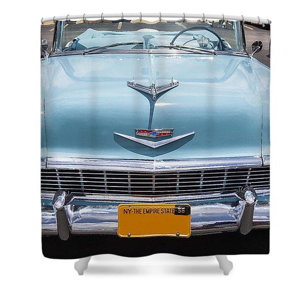 1956 Chevrolet Bel Air Shower Curtain