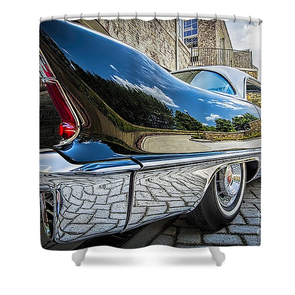 1957 Cadillac Eldorado Shower Curtain