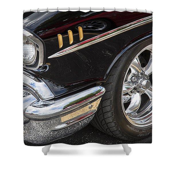 1957 Chevrolet Bel Air Beauty Shower Curtain