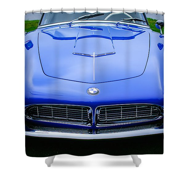 1958 Bmw 507 Series II Roadster -1042c Shower Curtain