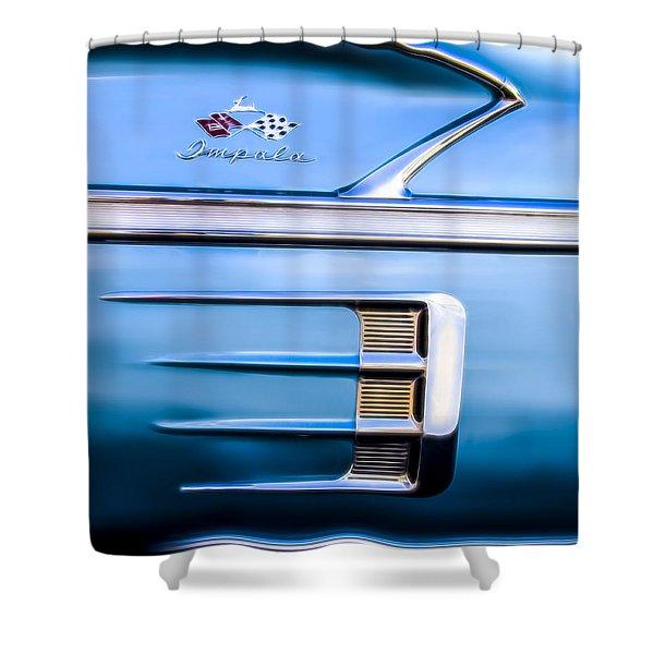 1958 Chevrolet Impala Shower Curtain