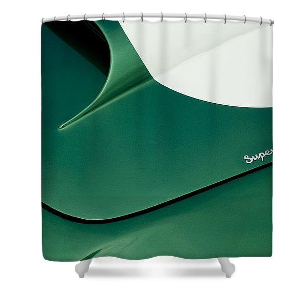 1959 Aston Martin Db4 Gt Hood  Shower Curtain