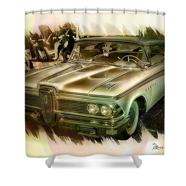 1959 Edsel Shower Curtain