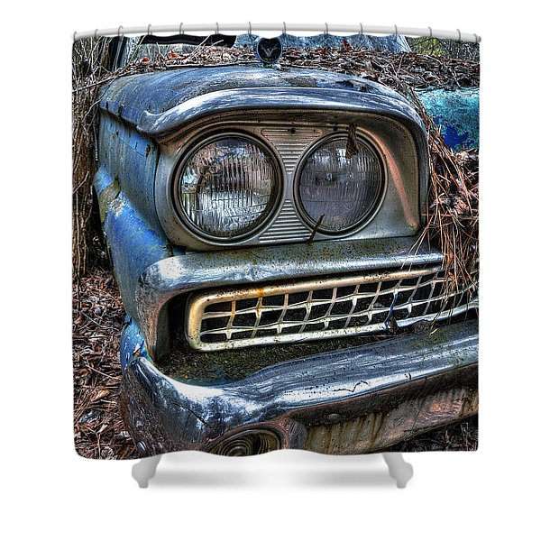 1959 Ford Galaxie 500 Shower Curtain