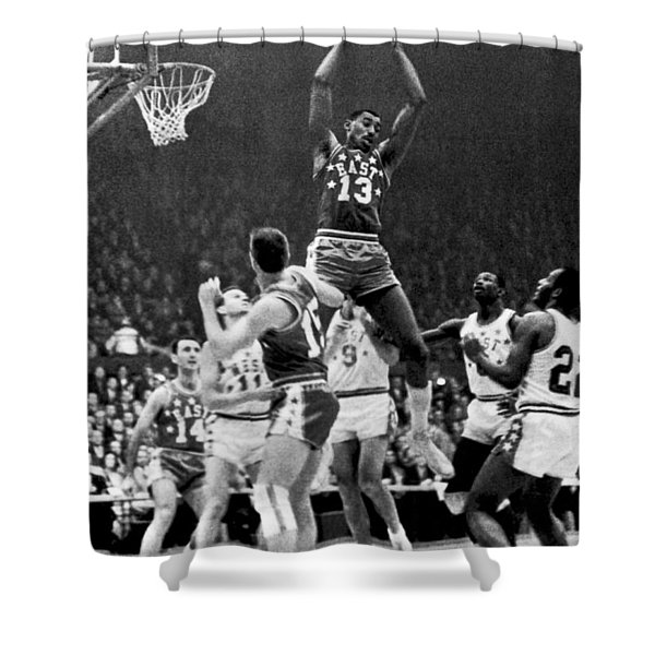 1962 Nba All-star Game Shower Curtain