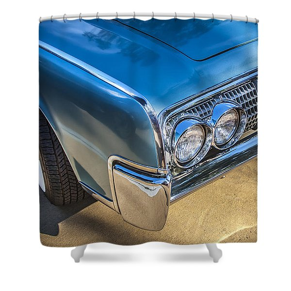 1964 Lincoln Continental Convertible  Shower Curtain