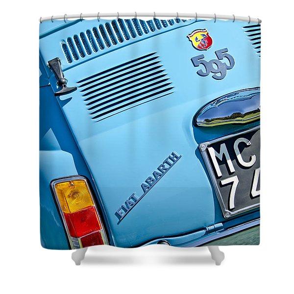 1965 Fiat Taillight Shower Curtain