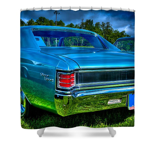 1967 Chevrolet Chevelle Ss Shower Curtain