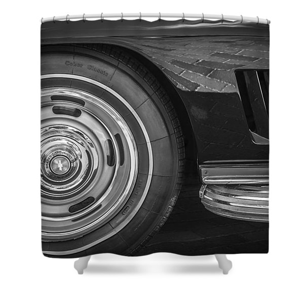 1967 Chevrolet Corvette Sting Ray 427 435 Hp Shower Curtain