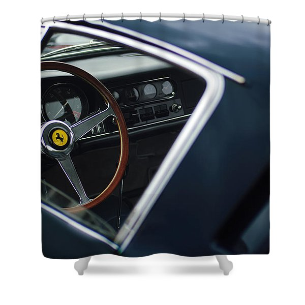 1967 Ferrari 275 Gtb-4 Berlinetta Shower Curtain