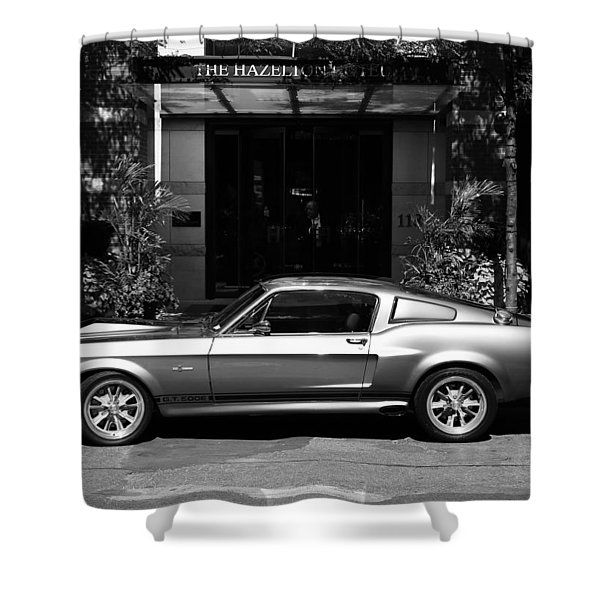 1967 Shelby Mustang B Shower Curtain