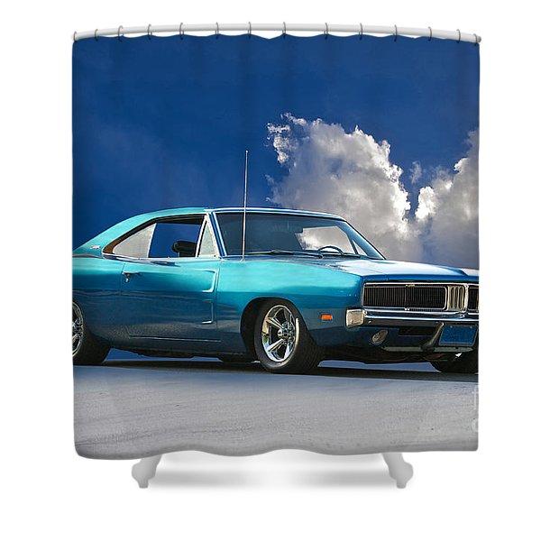 1968 Mopar Muscle car 1969 1970 Dodge Charger R//T Mirrored T-shirt
