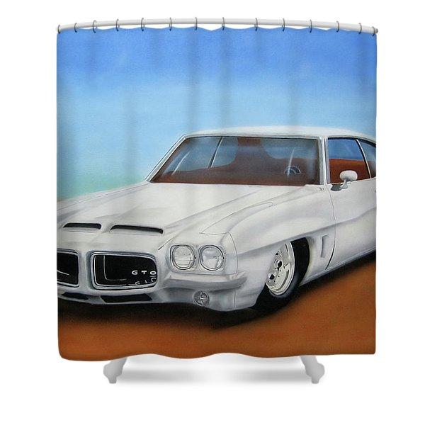1972 Pontiac Gto Shower Curtain