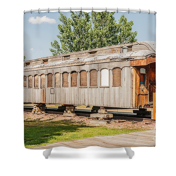 19th Century Drover Car Shower Curtain