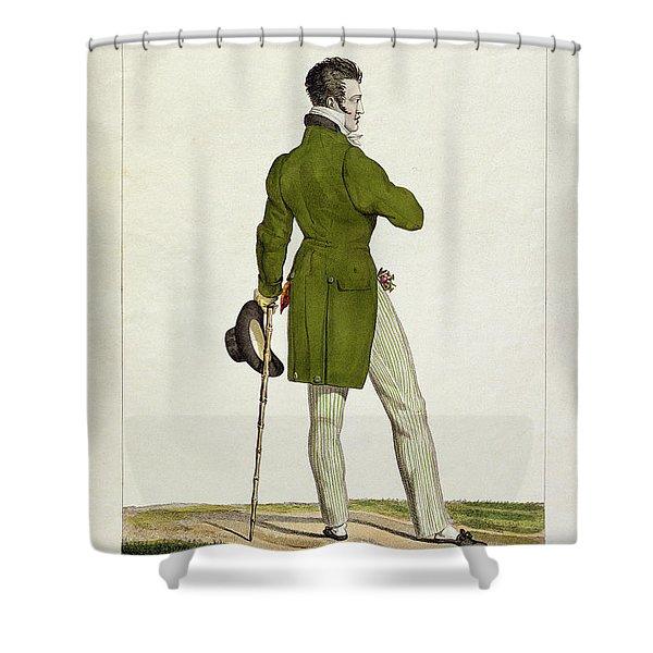 A Dandy  Shower Curtain