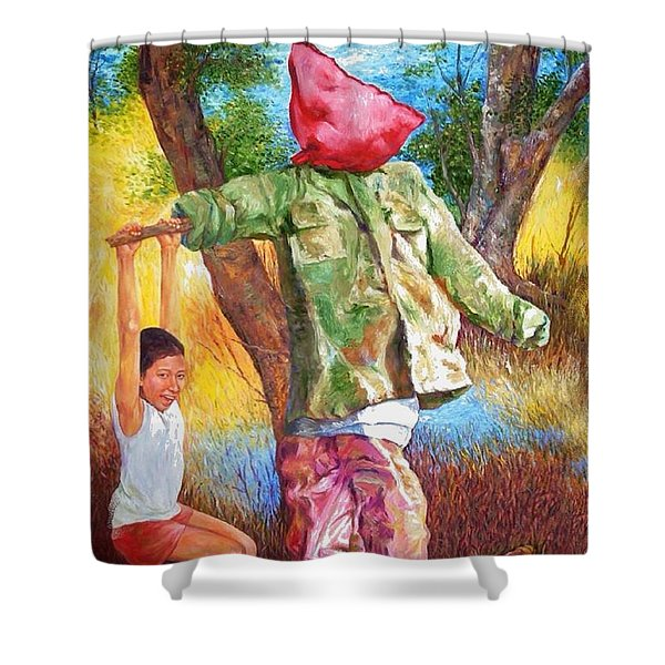 A Time In Summer Shower Curtain